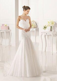 Adriana Alier Zadani Mermaid Wedding Dress