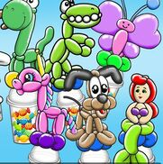 Euless, TX Balloon Twister | Shimmy Giggles Clown Entertainment and More
