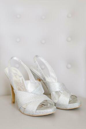 Sparkly Bridal Heels