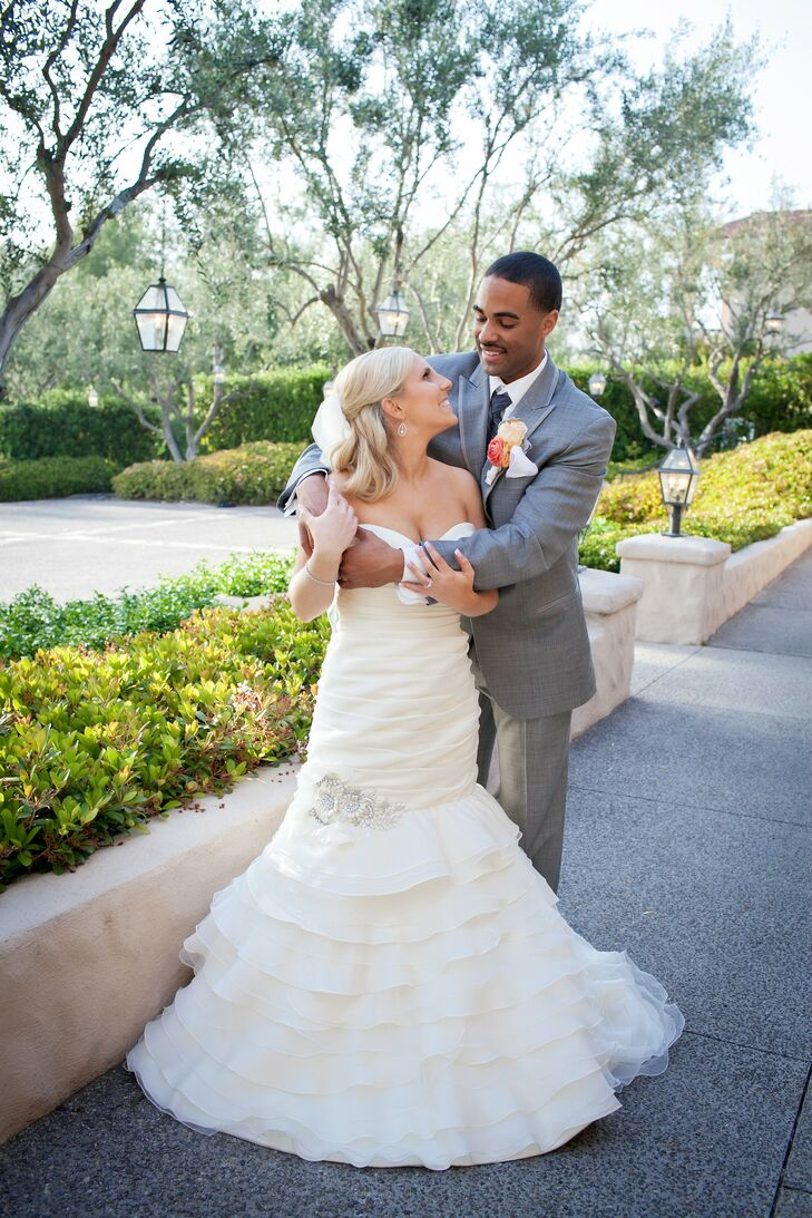 The Bride Emma Buchbinder, 28, works in the Superior Court of California The Groom Edward (Eddie) Woodward II, 27, a member of the US Air Force The Da