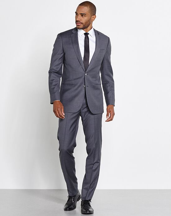 Gray Wedding Tuxedos + Suits
