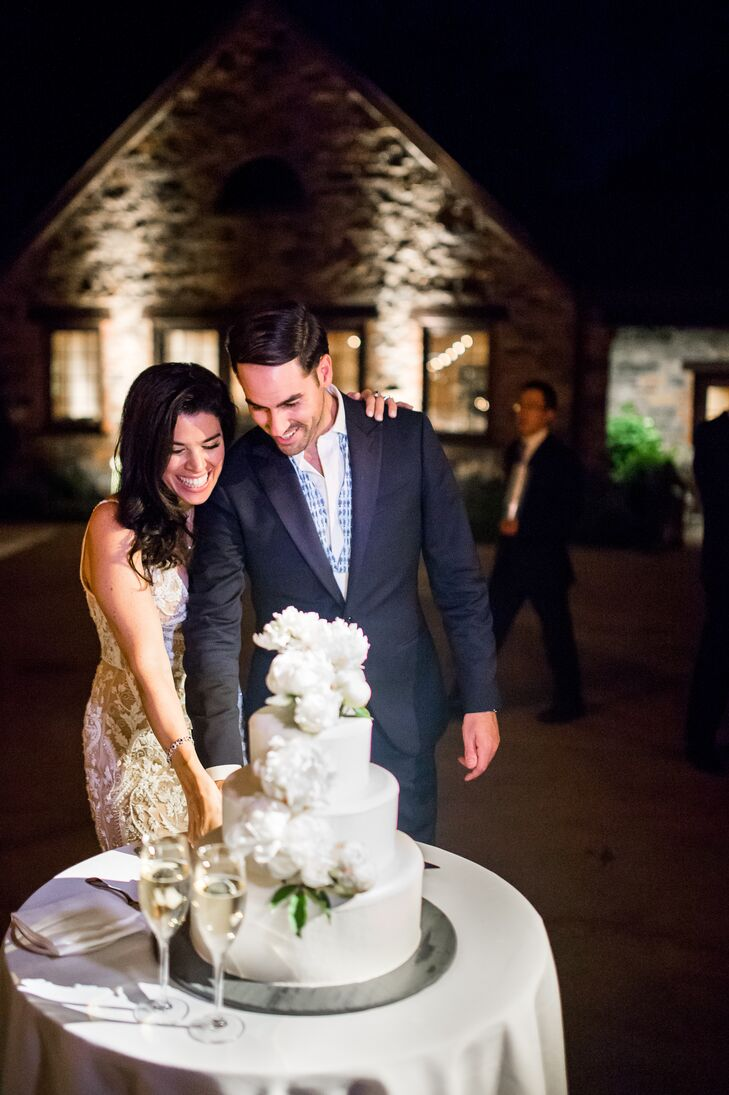 Formal Cake Cutting with Tiered White Cake