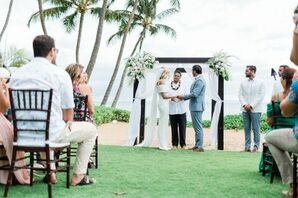 Tropical Wedding Ceremony in Hawaii