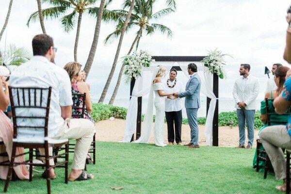 Tropical Wedding Ceremony in Hawaii
