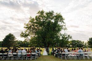 Tree and Ribbon Ceremony Backdrop