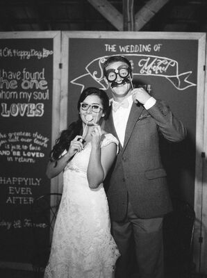 Chalkboard Photo Booth Background