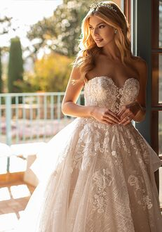Moonlight Collection J6797 A-Line Wedding Dress