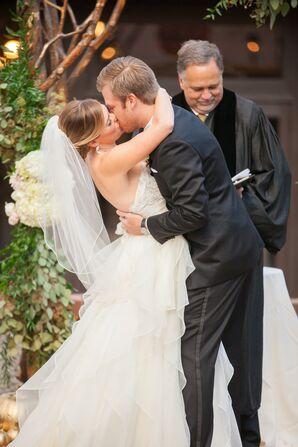 Samantha and Brandon's First Kiss