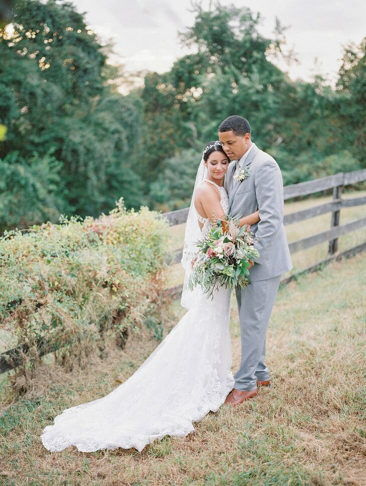 Rustic Wedding Portraits at Lauxmont Farms in Wrightsville, Pennsylvania