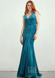 CocoMelody Bridesmaid Dresses CB0272 V-Neck Bridesmaid Dress