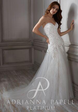 Adrianna Papell Platinum Lula A-Line Wedding Dress