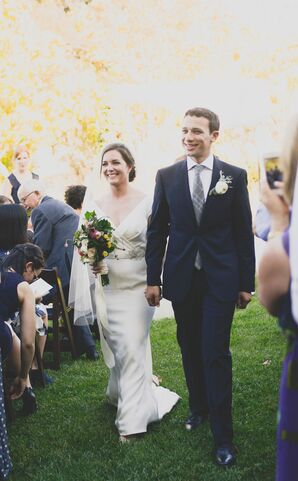 Recessional Up Grass Aisle