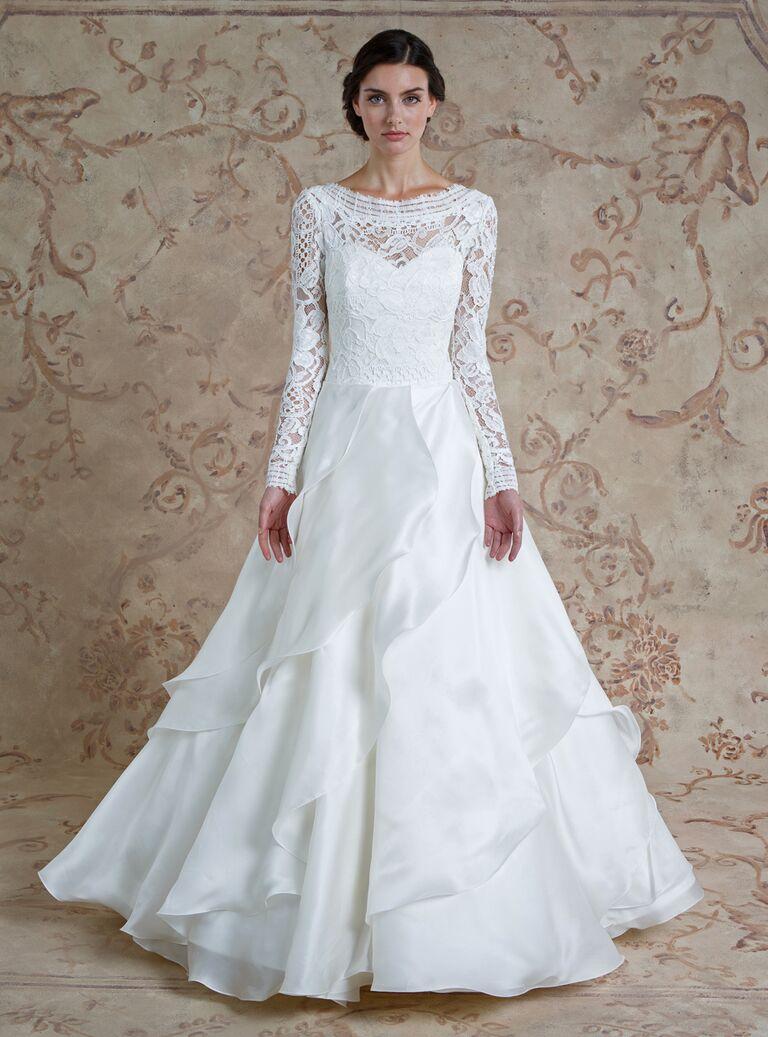 Sareh Nouri Fall 2016 Collection: Wedding Dress Photos