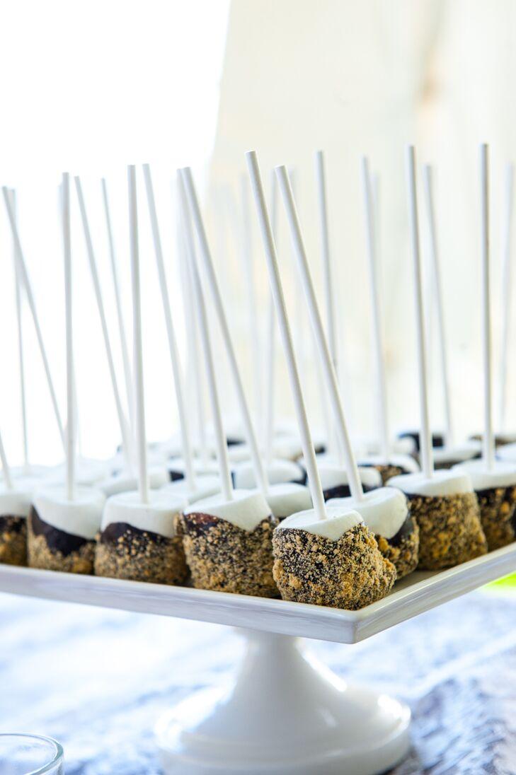 S'mores Marshmallow Dessert Table