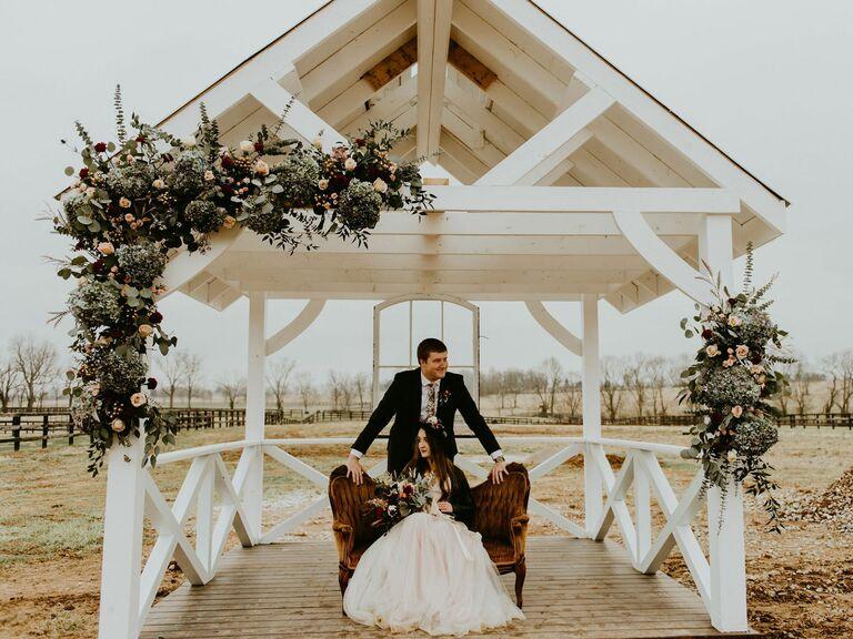 Wedding venue in Midway, Kentucky.