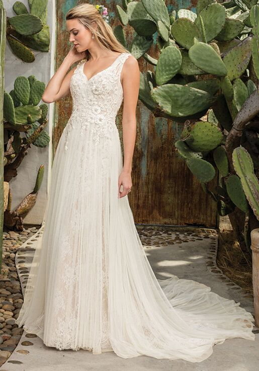 bc3f48b8508 Casablanca Bridal Style 2301 Sierra Wedding Dress - The Knot