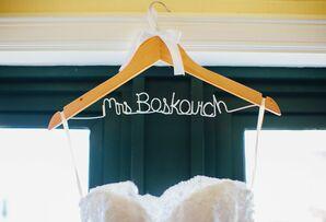Custom Etsy Gown Hanger