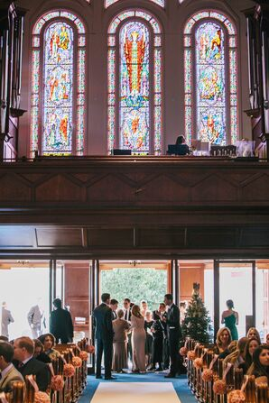 Traditional Indoor Wedding Ceremony