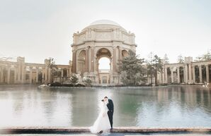 Picturesque Bride and Groom Picture