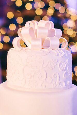 Ribbon-Inspired Cake Topper