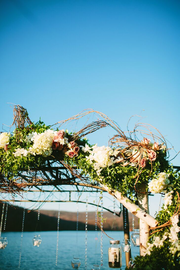 Branch Archway with Hanging Votives