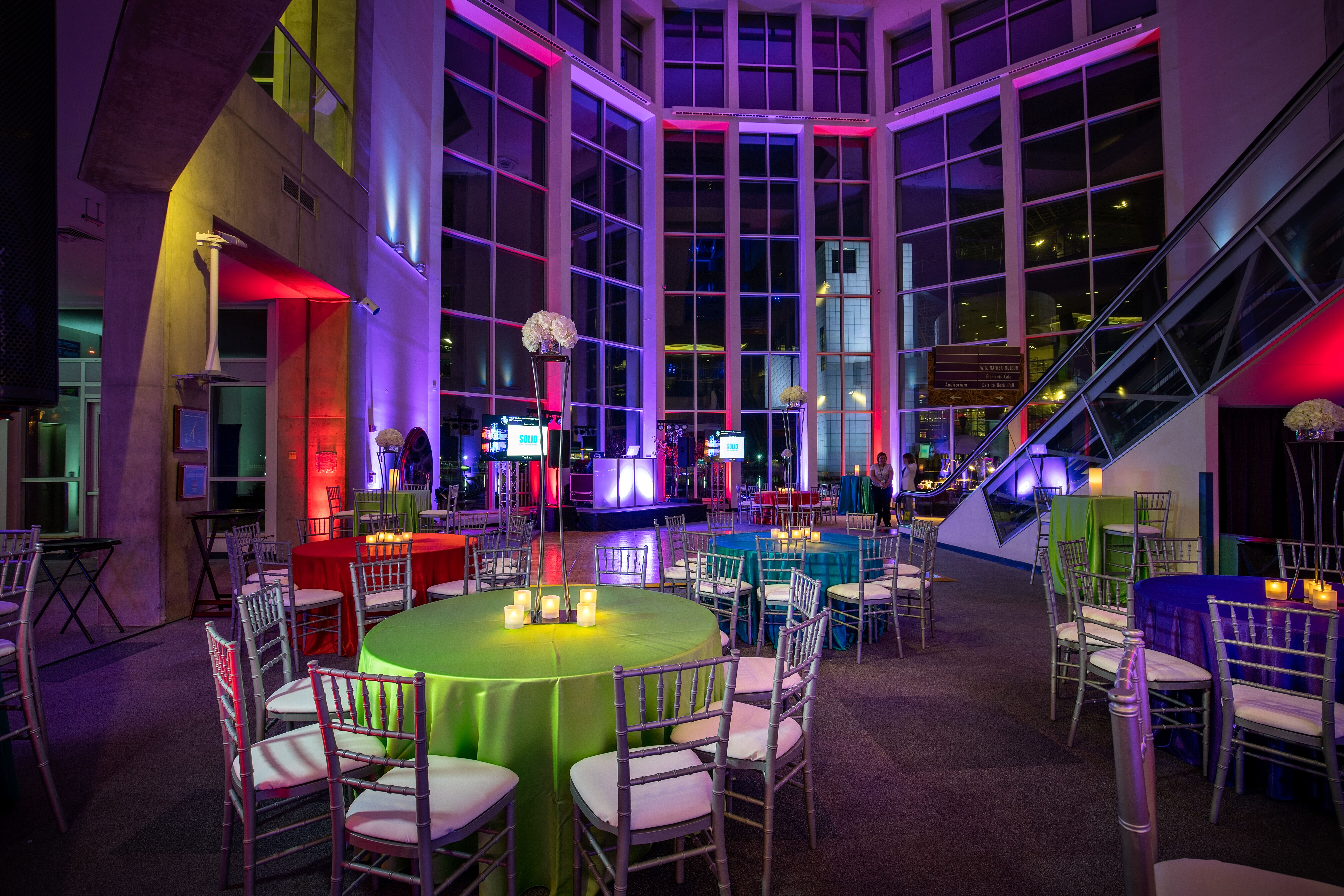 Great Lakes Science Center Reception Venues Cleveland Oh