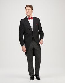 Jos. A. Bank Joseph & Feiss Black Cutaway Tuxedo Black Tuxedo
