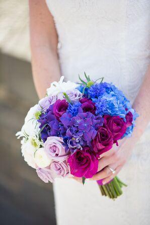 Ombre Hydrangea Bridal Bouquet