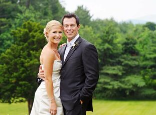 The Bride Katie Andrews, 28, a graduate student at Tufts University The Groom Mike Gionfriddo, 34, works at Bank of Tokyo-Mitsubishi UFG The Date June