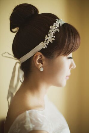 Vintage-Inspired Jeweled Headband
