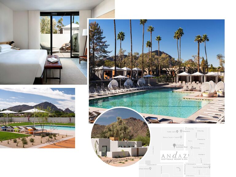 photo collage of Andaz in Scottsdale, Arizona