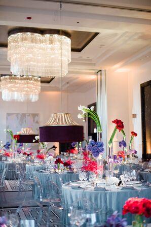 Chic Modern Ballroom Reception