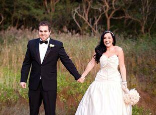 The Bride Justine Yandle, 24, a wedding photographer for her own company, Justine Yandle Photography The Groom Brian Berman, 29, a software engineer T