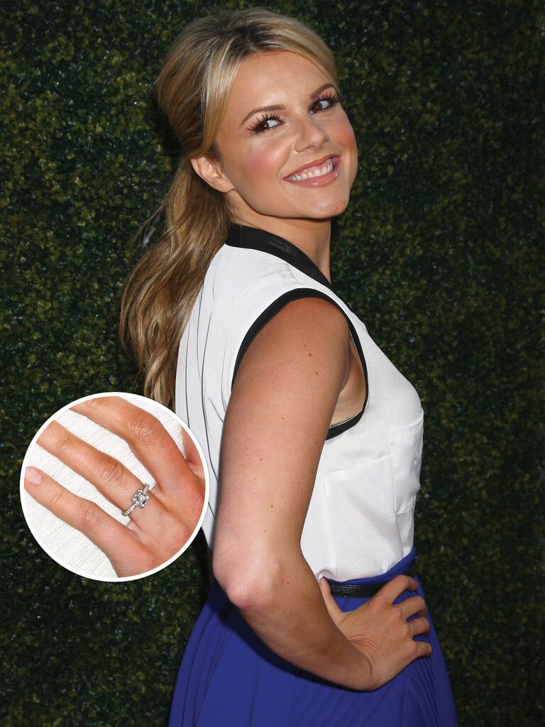 Ali Fedotowsky's engagement ring