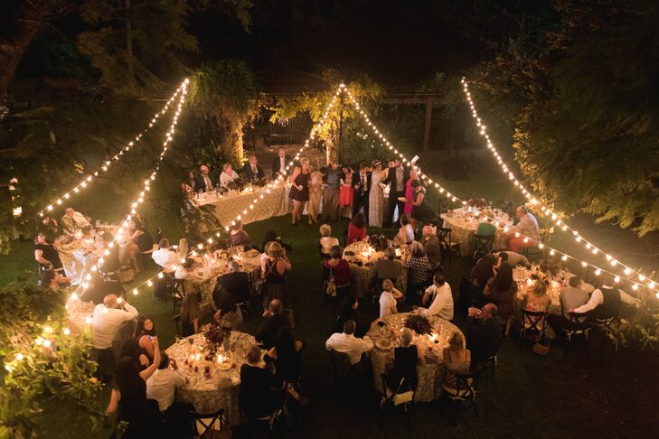Outdoor Wedding Reception Without A Tent
