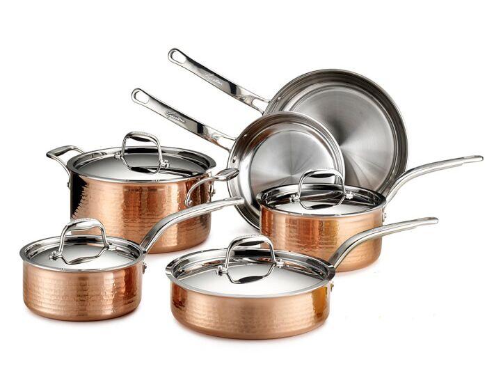 Lagostina copper Martella cookware