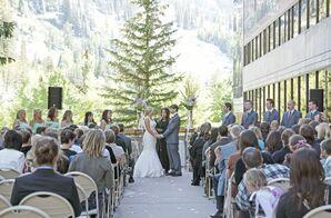 Mountain Resort Wedding Ceremony in Utah