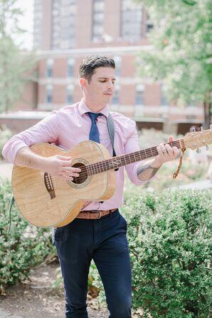 Guitar Player for Wedding Ceremony at Kimpton Hotel Monaco in Philadelphia, Pennsylvania