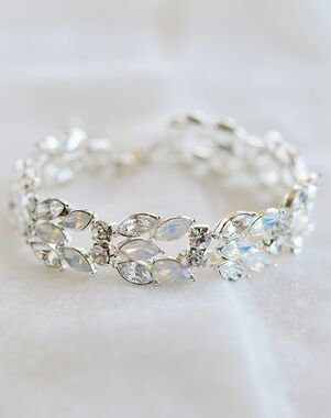 Dareth Colburn Ariana Opal & Crystal Bracelet (JB-4864) Wedding Bracelet photo