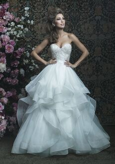 Allure Couture C417 Ball Gown Wedding Dress