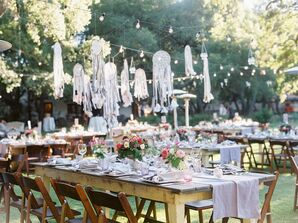 Dream Catchers Dangling Over Dining Tables