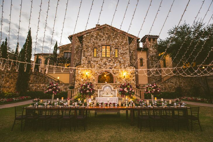 Tuscan-Inspired Reception at Bella Collina