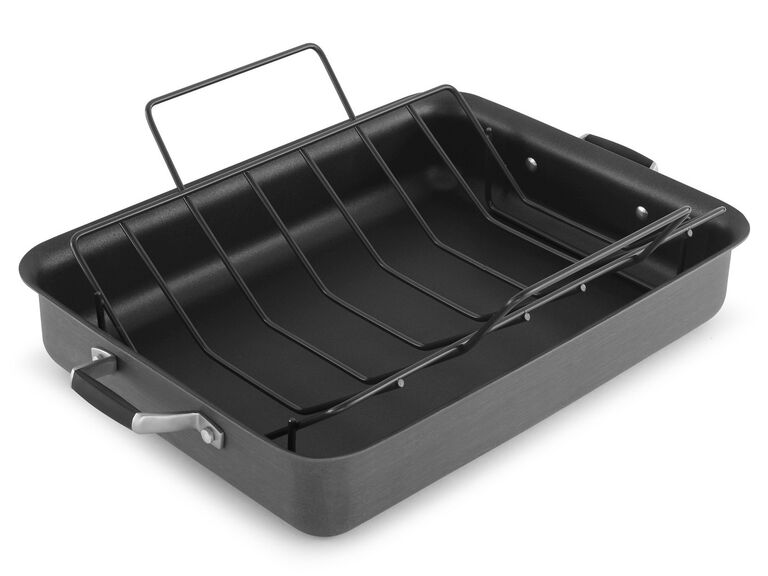 Simply Calphalon nonstick roasting pan