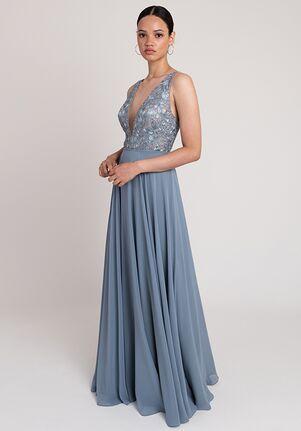 Jenny Yoo Collection (Maids) Kinsley V-Neck Bridesmaid Dress