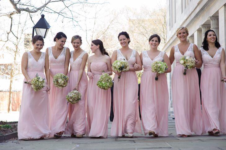 410043bb9d0 Pink Bari Jay Bridesmaid Dresses