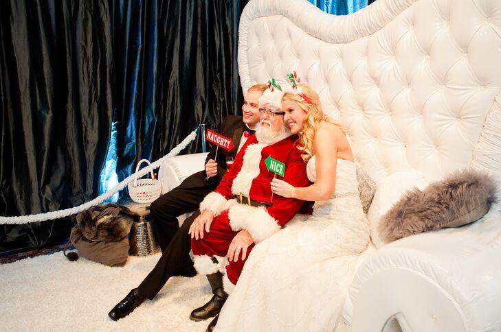 Santa Claus North Pole Photo Booth