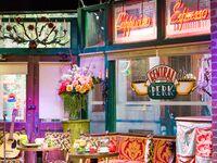 Set of Friends TV show Central Perk cafe
