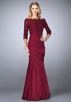 La Femme Evening 24926 Red Mother Of The Bride Dress