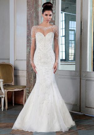 Justin Alexander Signature 9817 Mermaid Wedding Dress