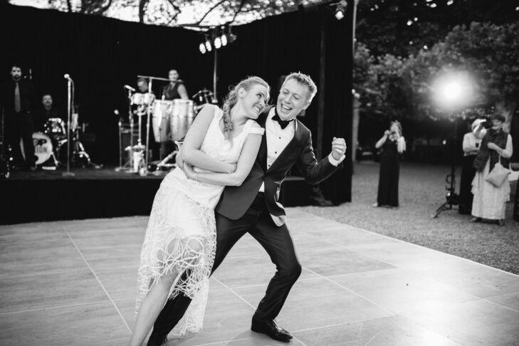 First Dance at Beaulieu Garden in Napa Valley, California